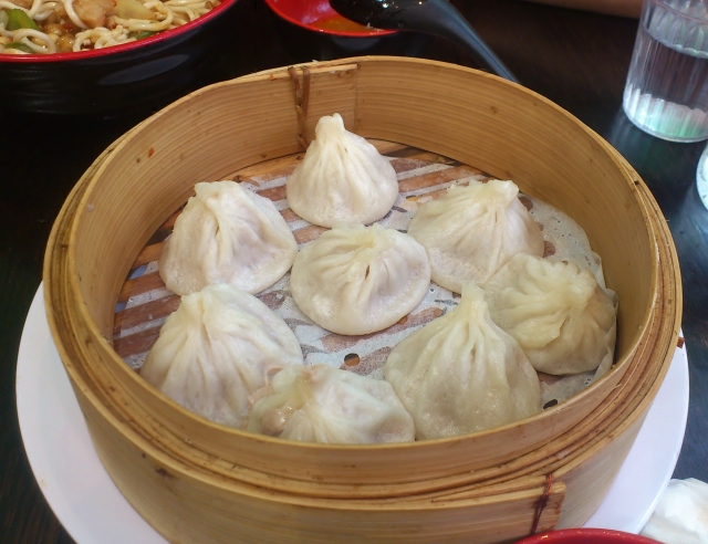 Homemade traditional steamed Shanghai xiaolongbao 8 ($9.30)