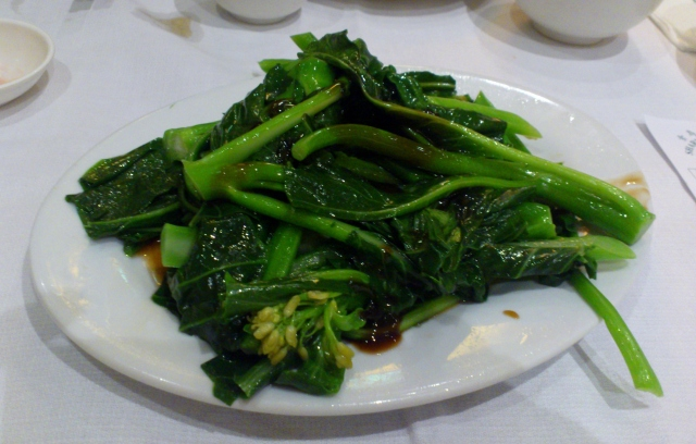 Chinese broccoli with oyster sauce (special $10)